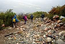 Camino al Glaciar del Hielo Azul El Bolson