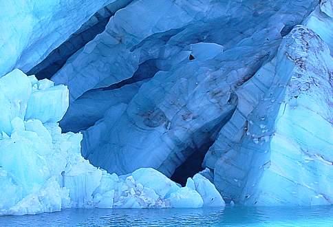 Glaciar del Hielo Azul El Bolson Patagonia Argentina