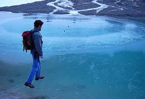 Glaciar del Hielo Azul, El Bolson Patagonia Argentina