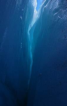 Glaciar Hielo Azul El Bolson
