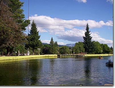 Plaza Pagano, El Bolson Patagonia
