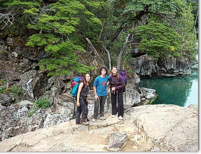 Rocas Cajon del Azul El Bolson