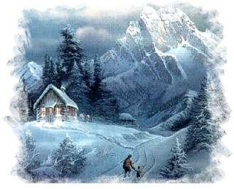 El Bolson en invierno