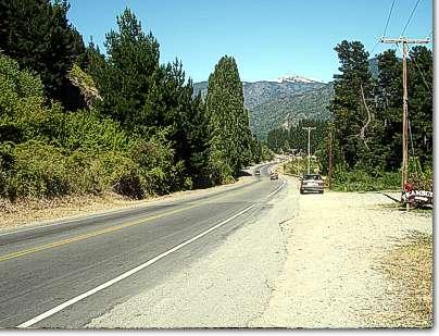 Ruta 40 sur hacia El Hoyo, Epuyen, Cholila y Esquel