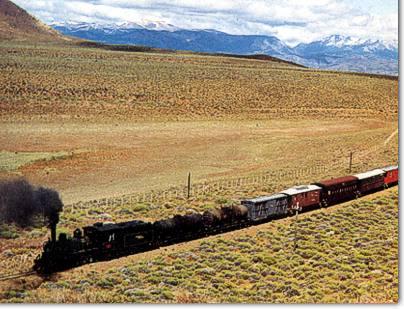 Tren mixto de pasajeros y carga