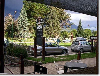 Avenida San Martin, El Bolson Patagonia Argentina