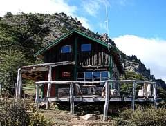 El refugio del Cerro Piltriquitron