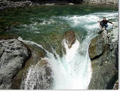 Nacimiento del Cajon del Azul, El Bolson Patagonia Argentina
