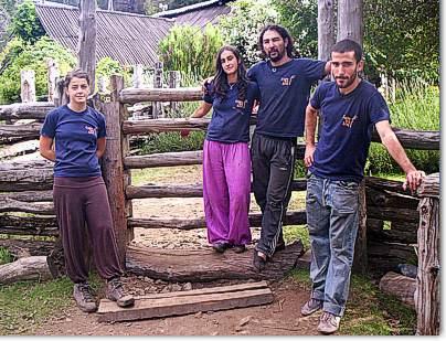 El equipo de refugieros del Cajon del Azul