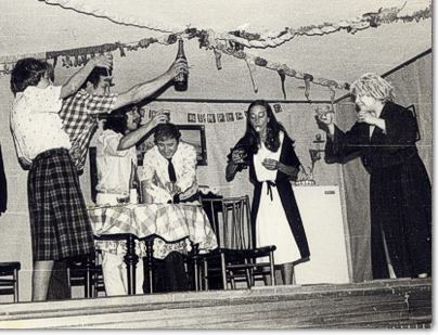Primer grupo teatral de El Boslon