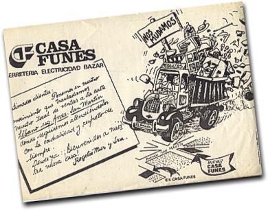 Antiguo afiche publicitario de El Bolson